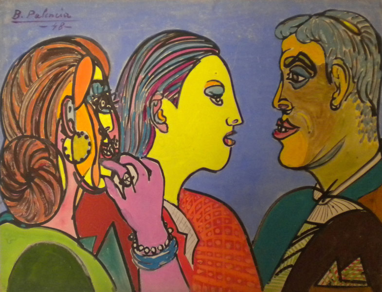 Pintura: Benjamìn Palencia